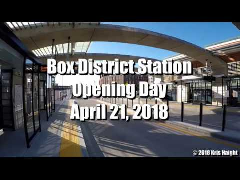 MBTA SL3 @ Box District Station - Opening Day 4/21/18