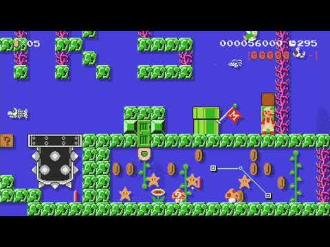 thanks friends , merci amis ! by babsi - Super Mario Maker - No Commentary