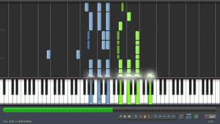 Scott Joplin: Bethena - 50% Speed - Piano Tutorial (Synthesia) + Sheet Music & MIDI