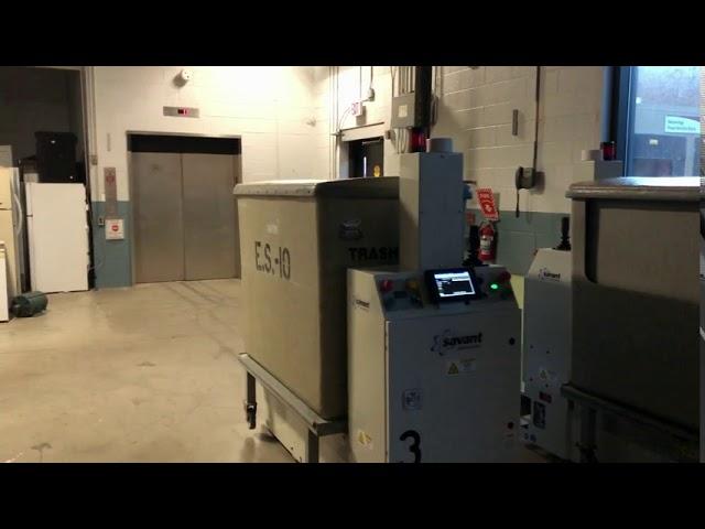 SAVANT AGV Automatic Elevator Interface Sequence
