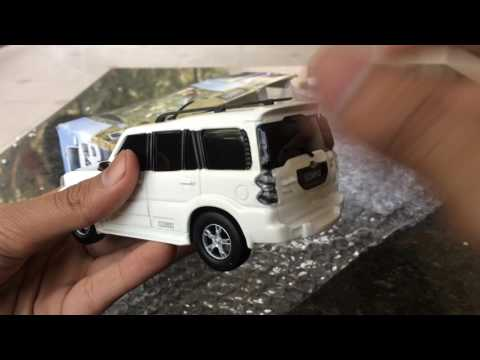 Unboxing of 2015 New Generation Mahindra Scorpio Scale model toy car