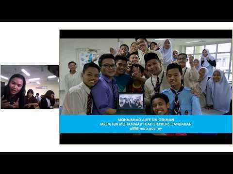 Skype session with Skype Master Teacher Aliff - Malaysia