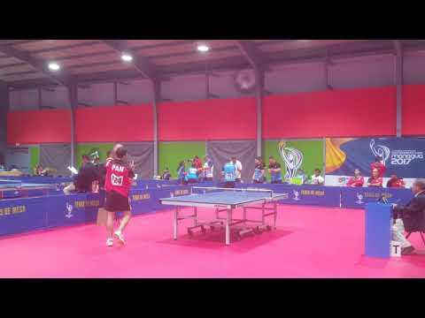 Omer Avi-tal vs. Hector Gatica - 2017 Central America Games