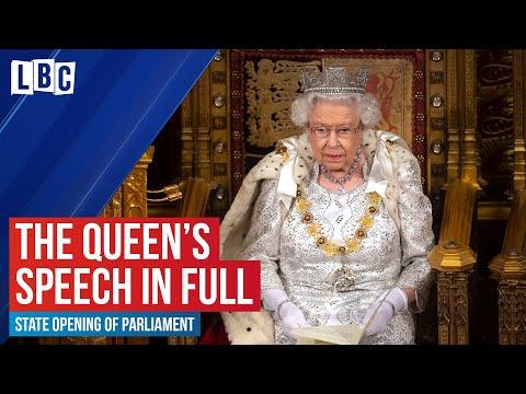 The Queen's Speech: Her Majesty Queen Elizabeth II Opens The Houses Of Parliament - Watch Live