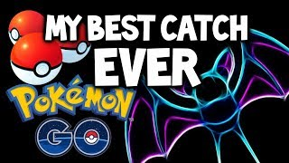 MY MOST EPIC CATCH EVER IN POKEMON GO!