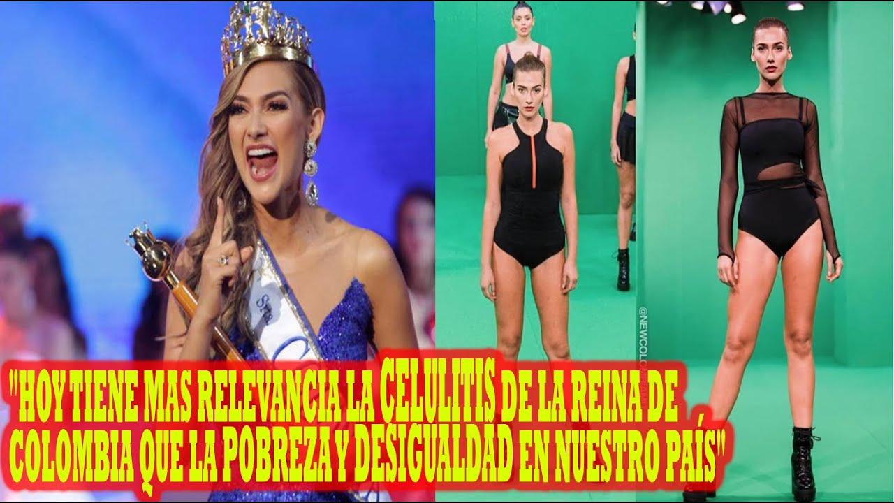 Señorita Colombia responde a los que la critican por 'subida' de peso