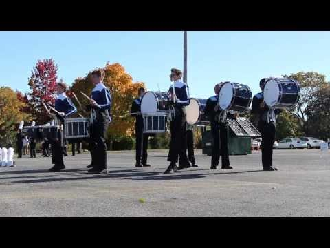 "2013 YHS Drumline ""Drum Feature"" - Mid-Atlantic States Championship - warm-ups"