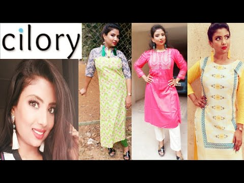bdbbbc4d631e Cilory kurti haul    Daily wear kurti    2018    wowpooja - YouTube