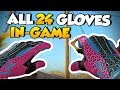 CS:GO - All 24 New Gloves In-Game (Factory New)