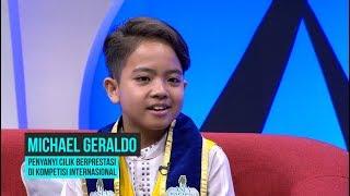 Michael Geraldo, Penyanyi Cilik Berprestasi Internasional | HITAM PUTIH (04/11/19) Part 4