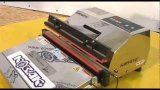 видео вакуумная упаковочная машина