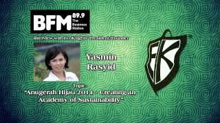Anugerah Hijau 2014 - Creating an Academy of Sustainability