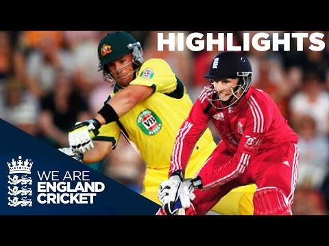 England & Australia In Huge Scoring T20 | 2013 - Highlights