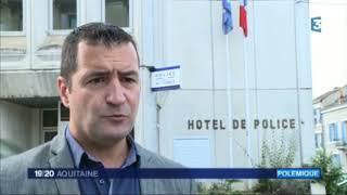 19/20 France 3, Périgueux : Alliance dénonce l'état d'insalubrité du commissariat