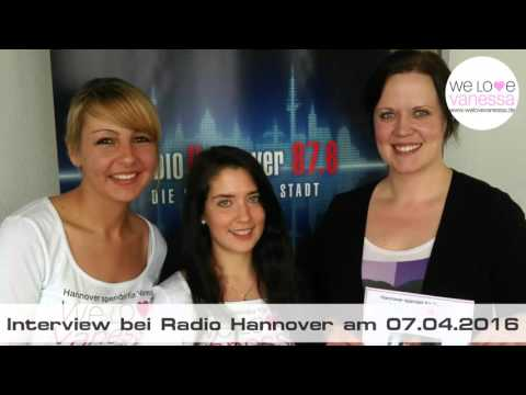We Love Vanessa Radiointerview bei Radio Hannover