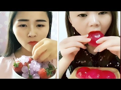 [ASMR NO TALKING] Ice Eating ASMR - (Eat the whole word) / Ice Chewing #113