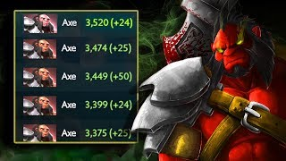 АБУЗ С 3К ДО 4К ММР АКС ДОТА 2 - ABUSE TO 4K MMR AXE DOTA 2