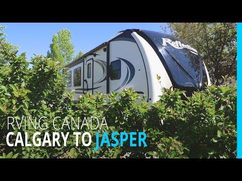 RVING CANADA: CALGARY TO JASPER ALBERTA (KYD EP 109)