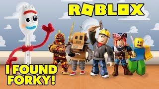 I FOUND FORKY FROM TOY STORY PLAYING ROBLOX AT 3AM