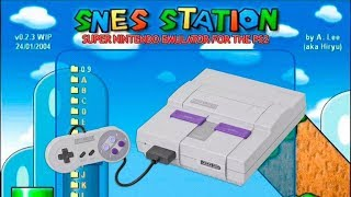 Live Stream - Emulador de Snes Station 0.2.4S Para PS2 Review