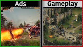 King of Avalon - Ads Vs Reality    Ads Vs Gameplay (2020) screenshot 5