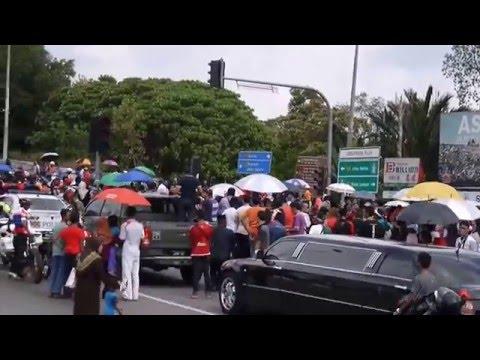 Lori 'Optimus Prime' DYMM Sultan Johor 2016-05-15