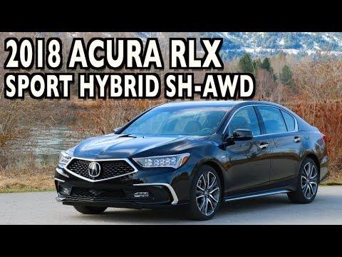 Here's the 2018 Acura RLX Sport Hybrid SH-AWD on Everyman Driver
