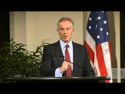 Students disrupt Tony Blair speech at Baker Institute