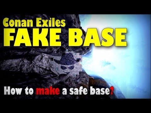 Conan Exiles - Fake Base