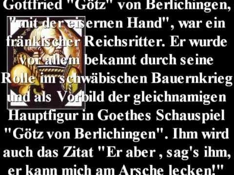 Götz Von Berlichingen Spruch