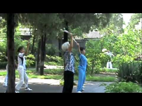 Fun In Jingshan Park, Beijing, China