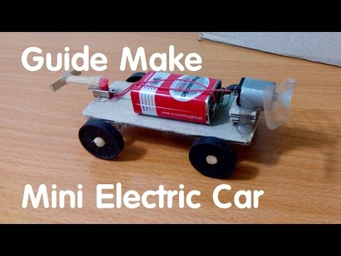 How To Make Mini Electric Car