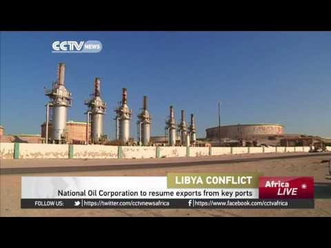 Libya's National Oil Corporation to resume exports from key ports