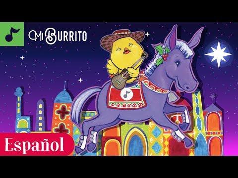 Mi Burrito Sabanero | Villancico Navideño | Canticos