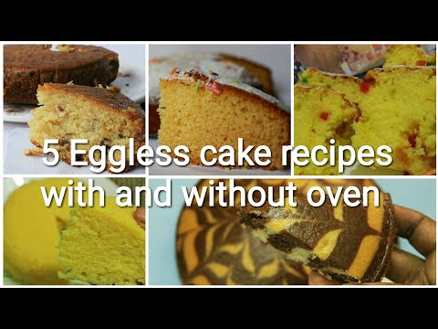 Eggless cake recipes - Cake recipe - Christmas recipes - Christmas cakes