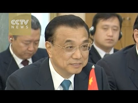 Premier Li meets counterparts from Albania, Slovenia and Macedonia