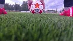 Freekick Master FootBall Soccer Em-kisat Islanti-Englanti ennakko