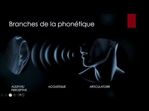 PCA - Phonétique Corrective et Articulatoire - Niveau L1 - Cours 01