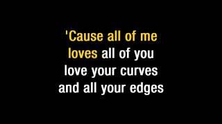"Download John Legend   ""All Of Me"" Karaoke Mp3 and Videos"
