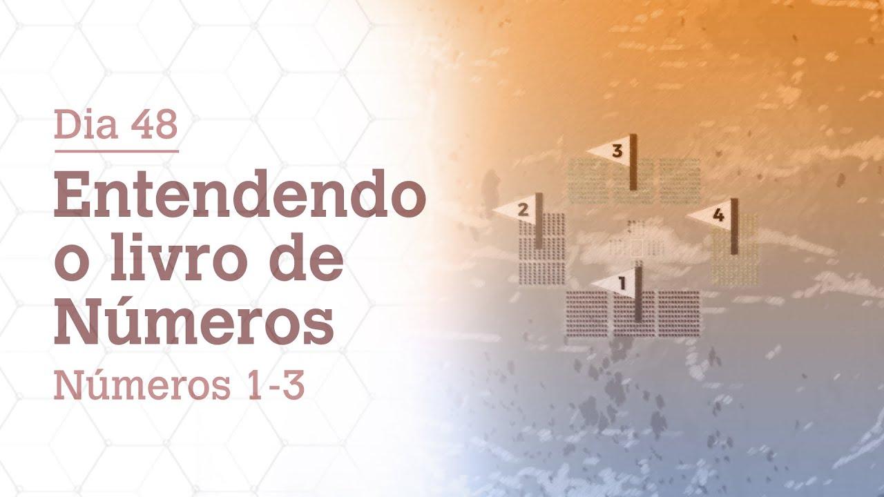 DIA 48   ENTENDA O LIVRO DE NÚMEROS   NÚMEROS 1-3   BÍBLIA TODO DIA