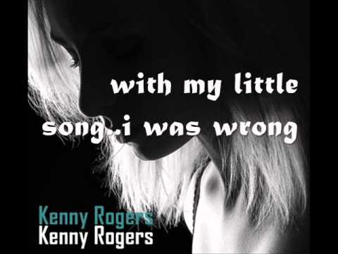 Kenny Rogers -==- She Believes In Me with lyrics [HQ]