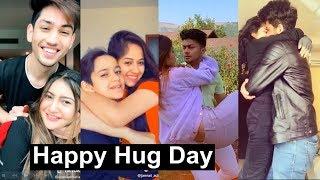 Happy Hug Day Musically   Manjul, Aashika, Satvik, Jannat, Avneet, Mrunal
