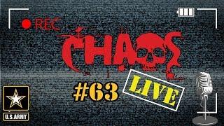 Chaos Live #63 | Army Q&A | US Army Veteran