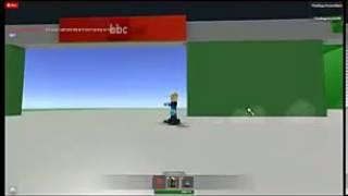 BBC One ROBLOX:Tour del roblox verson BBC Televison center