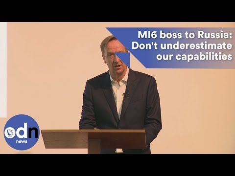 MI6 chief Alex Younger tells Russia: Don't underestimate our capabilities