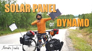 Solar panel VS dynamo hub – What's the best electricity source on tour? After 3 years on the road