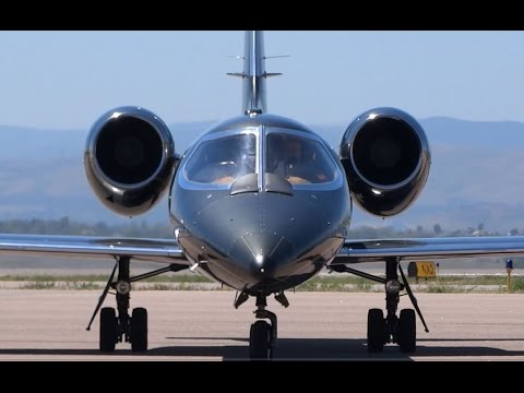 Gates LearJet 36A - Arrival and Shutdown