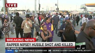 Rapper Nipsey Hussle dead at 33 in fatal shooting