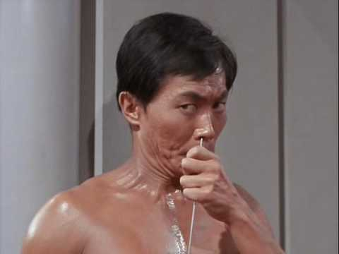 Star Trek TOS   Sulu thinks he's a swashbuckler