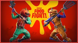 FORTNITE : Battle Royale - NEW Official FOOD FIGHT Trailer 2018 (Switch, PC, PS4 & XB1) HD